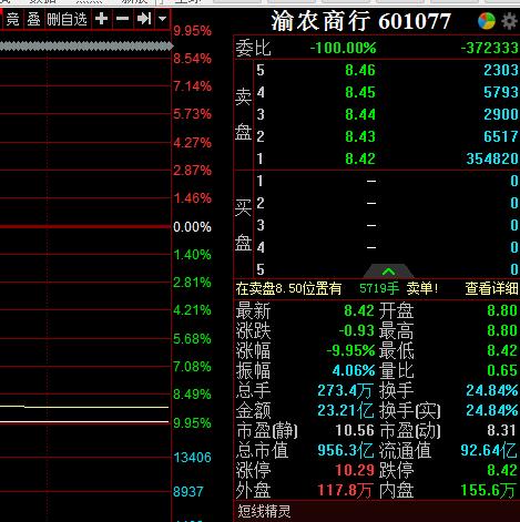 有跌停后第二天涨停的股票吗