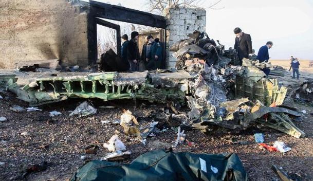 乌安全委员会:乌航失事主因系导弹袭击、恐怖攻击和引擎爆炸