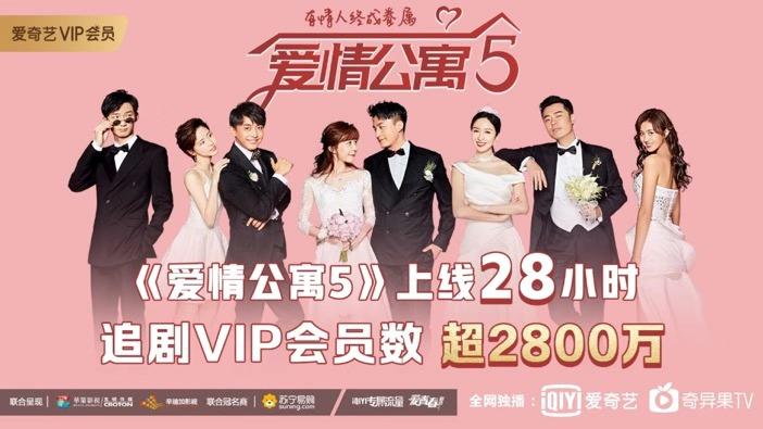 《爱情公寓5》单日获2800万观看 曾小贤成客串