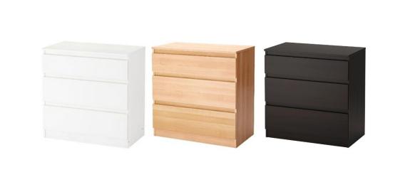 宜家因安全隐患召回9万件2005年起售的抽屉柜 系今年第二召
