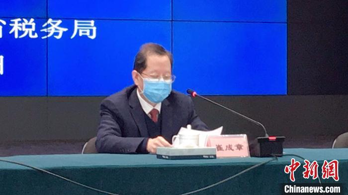浙江税务局党委委员、副局长崔成章。