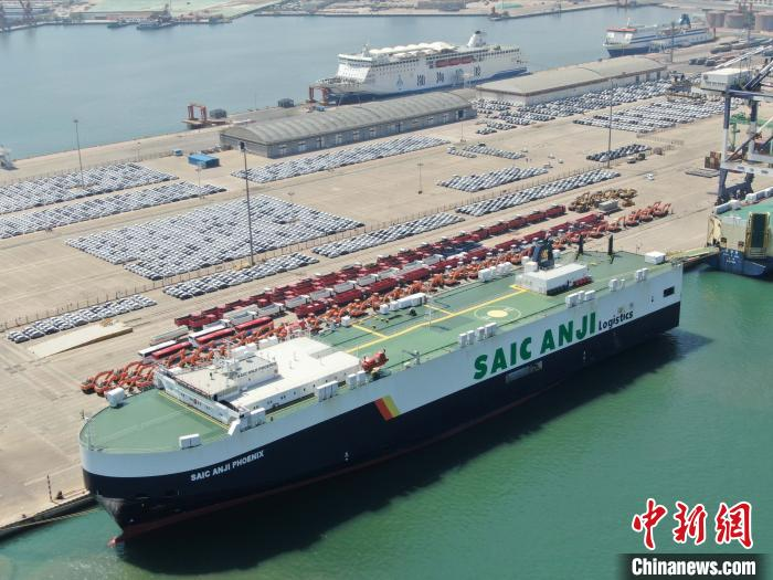 2019年山东港口烟台港完成商品车发送量37.3万台。