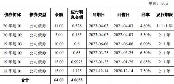 华远地产65亿元小公募公司债券已获上交所受理-中国网地产