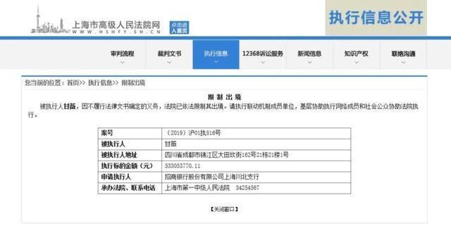 上海高级人民法院网截图