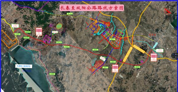 长春至双阳公路开工建设 明年10月末全线通车