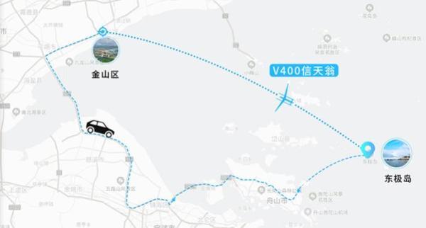 负重400公斤续航1000公里 上海研制的无人机全球首发