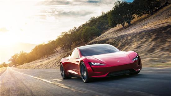 特斯拉Roadster官图发布 百公里加速2.1秒
