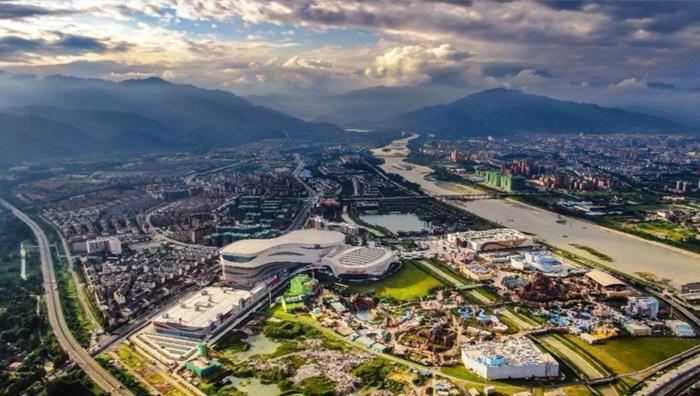 """区域崛起正当时 成渝两城文化新地标刷新""""城市动能"""""""