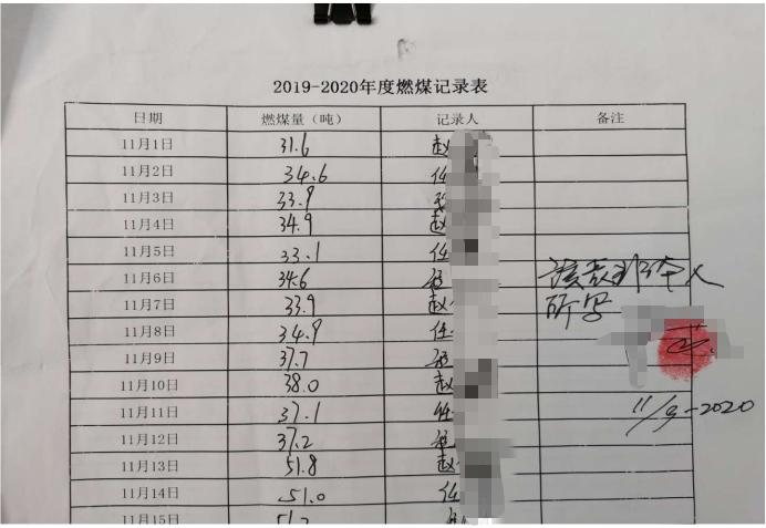 """天津东丽区临时""""做假账""""应付督察 煤量数据""""两张皮"""""""