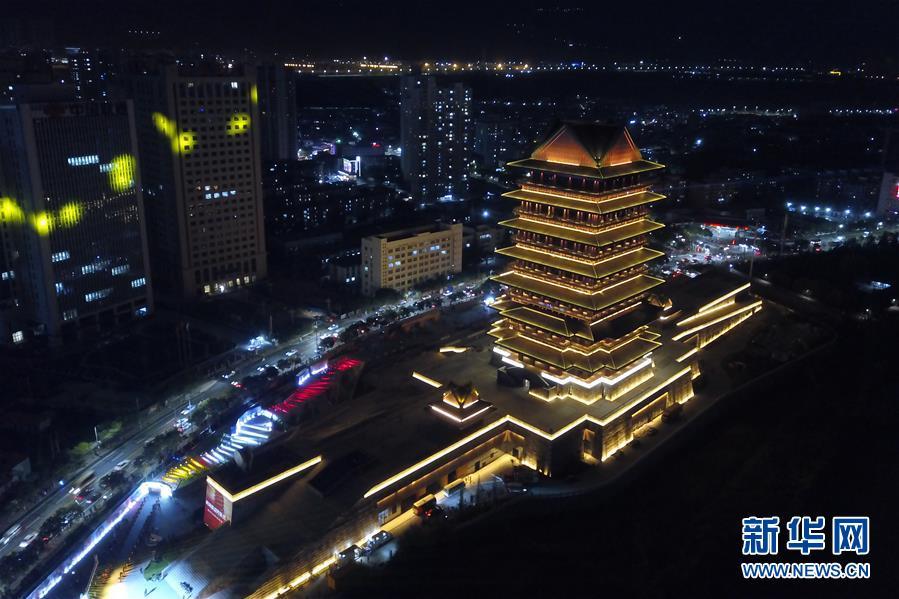 (社会)(3)兰州:黄河楼点亮黄河之滨新坐标