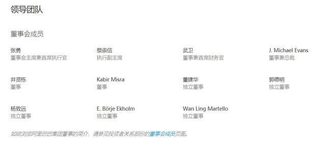 《【鹿鼎网上平台】阿里官网更新确认 马云退出董事会成员列表》