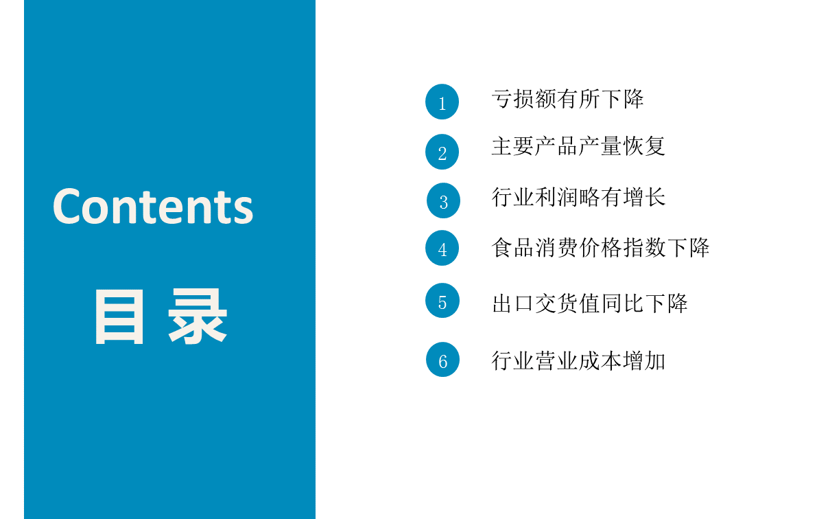 中国农产品产业2020年前三季度经济运行月报(附全文)