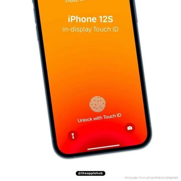 iPhone 12S最大亮点:或支持屏下指纹