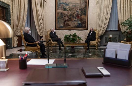 德拉吉正式接受任命为意大利新总理,并宣布了内阁部长名单