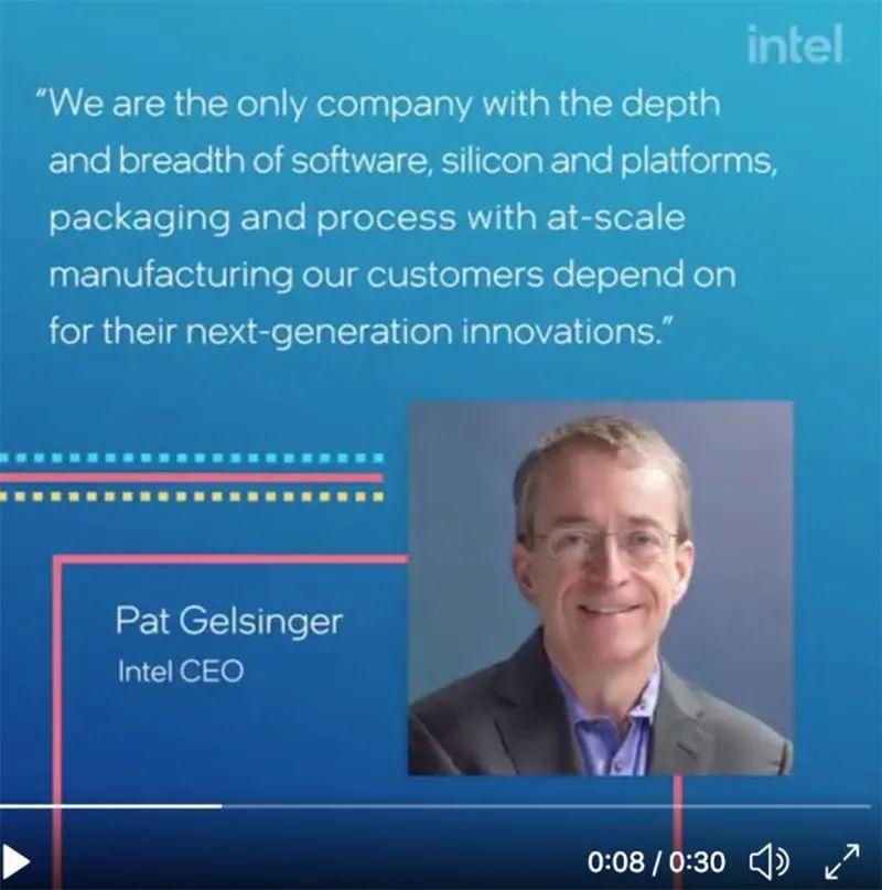 """全球缺""""芯""""!英特尔公布大计划:斥资200亿美元建芯片工厂"""