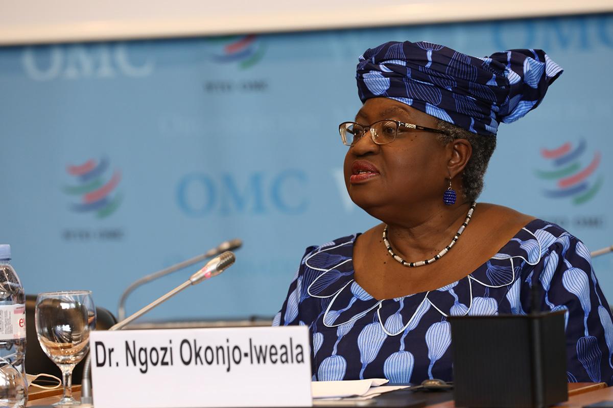恩戈齐·奥孔乔·依维拉成为世贸组织第一位非洲裔美国女总干事