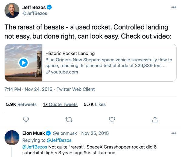 贝佐斯辞职专注造火箭能赶上马斯克吗?