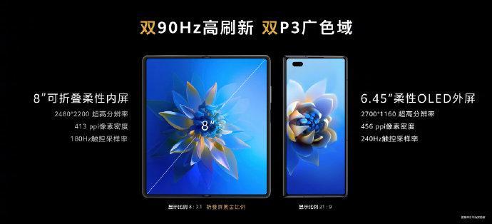 [视频记录]华为发布新款折叠屏手机MateX2,起价17999元