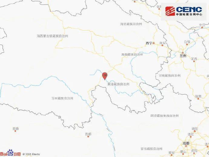 担心!青海果洛7.4级地震昨晚云南大理6.4级地震