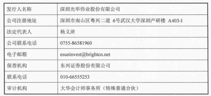 光华伟业计划从新三板转为A并已完成向深圳证监局的咨询和备案