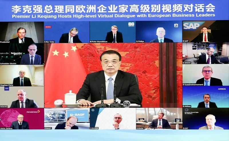李克强:中国宏观政策的制定和实施直接稳定了经济基本面,满足了市场参与者的需求