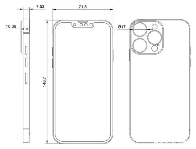 """iPhone 13系列消息汇总:""""刘海""""缩小 影像系统升级 还有新配色"""