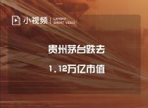 貴州茅臺跌去1.12萬億市值