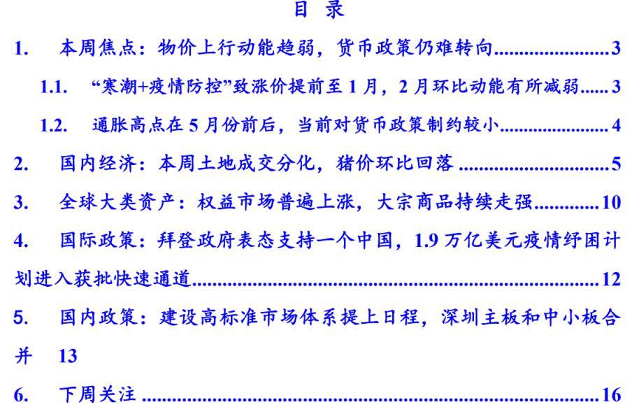 国泰君安:季节性提前涨价放缓,流动性难以约束