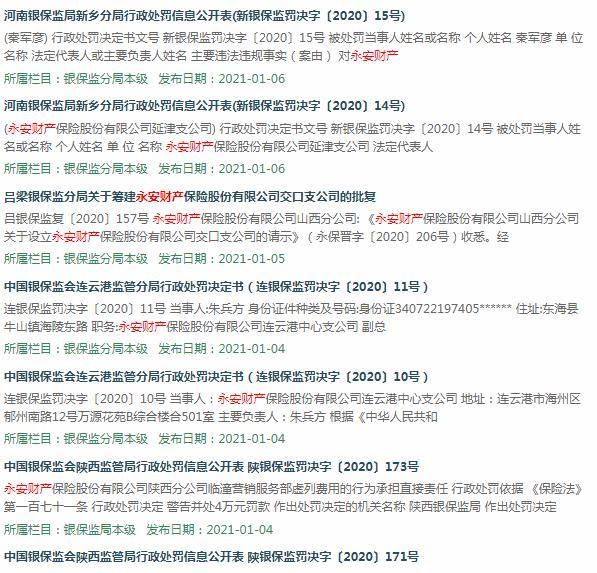 永安财险内控问题爆发,甚至拿了一票。中国保监会再次敲响了警钟