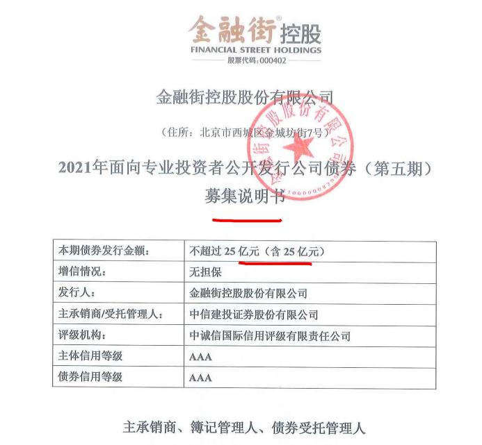 <a href=/gupiao/000402.html class=red>金融街</a>借新还旧等拟发5年期25亿公司债
