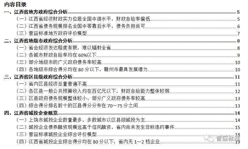 2021年江西省地方政府与城投平台专题分析报告:中部地区的经济洼地 强省会突围之路任重道远