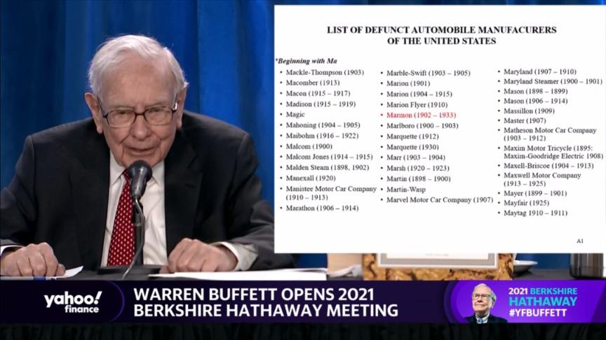 黑帽seo技术_2021巴菲特股东会万字实录:未来二三十年 天下市值前20名单不会有大转变插图4