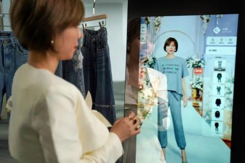智能云镜排行_理想穿搭镜在眼前,懂衣智能云镜开启智能搭配新时代